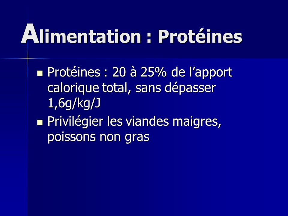 Alimentation : Protéines