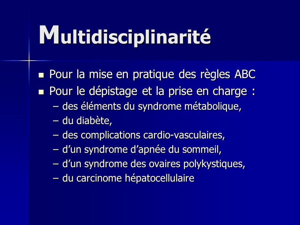 Multidisciplinarité Pour la mise en pratique des règles ABC