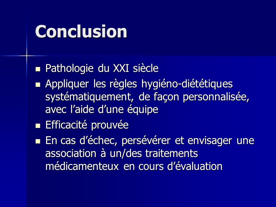 Conclusion Pathologie du XXI siècle