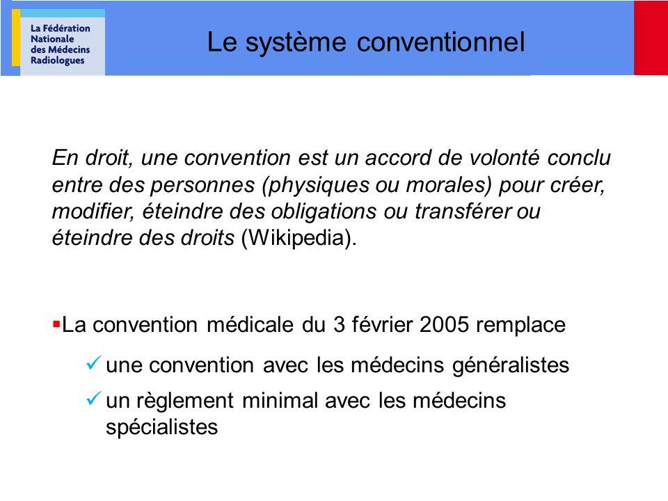 Le système conventionnel