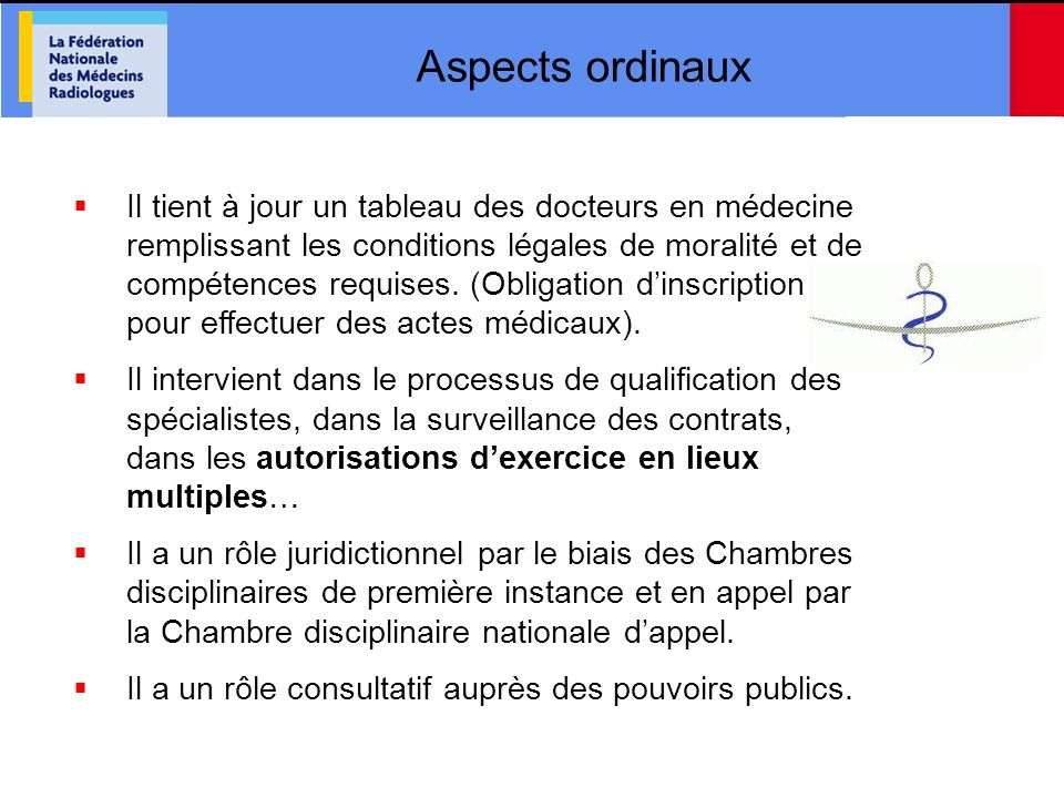 Aspects ordinaux