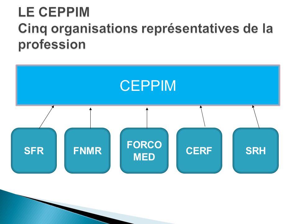LE CEPPIM Cinq organisations représentatives de la profession