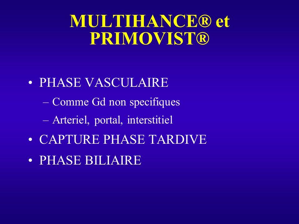 MULTIHANCE® et PRIMOVIST®