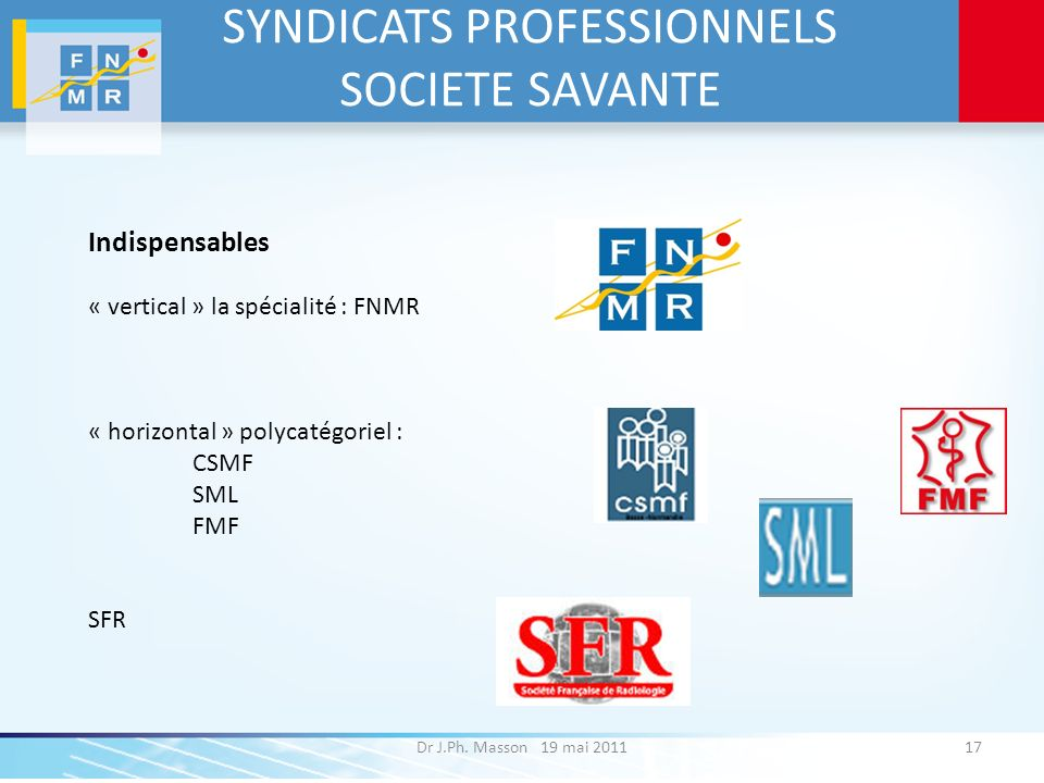 SYNDICATS PROFESSIONNELS SOCIETE SAVANTE