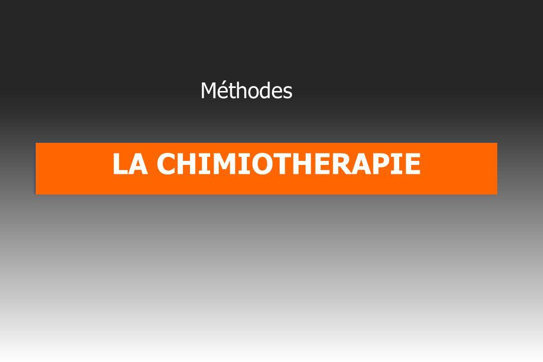 Méthodes LA CHIMIOTHERAPIE