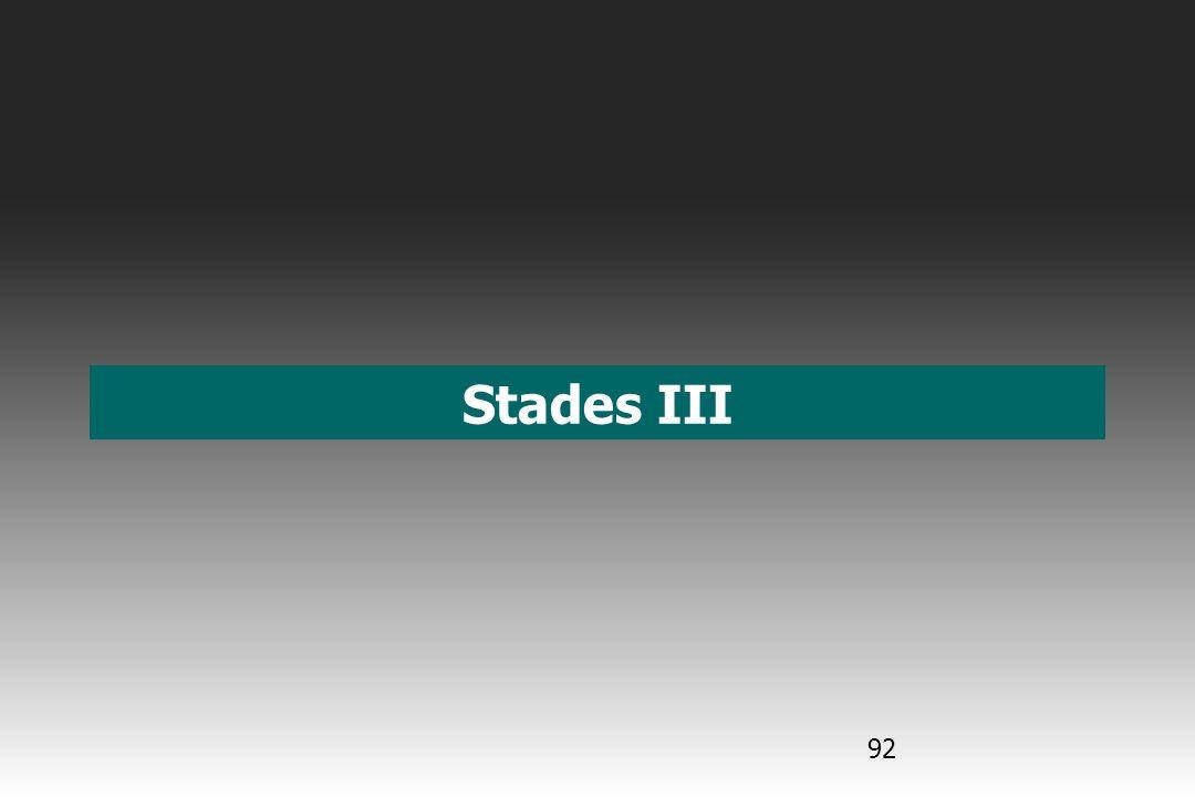 Stades III