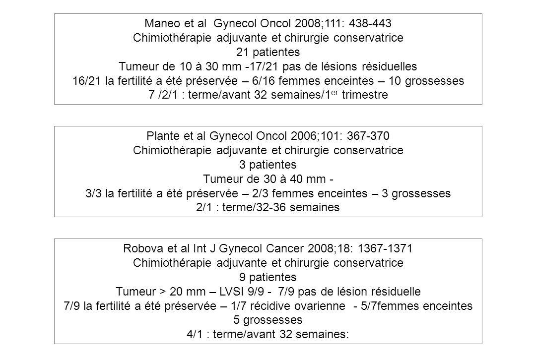 Maneo et al Gynecol Oncol 2008;111: 438-443