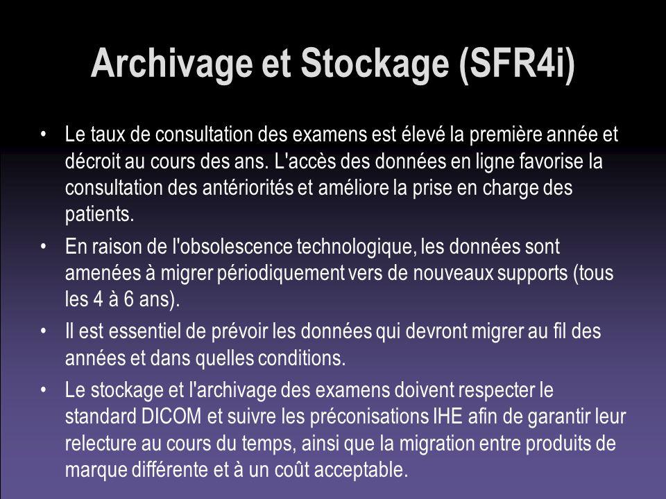 Archivage et Stockage (SFR4i)