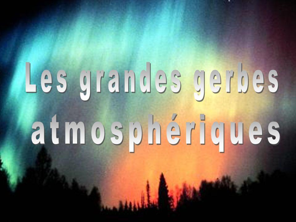 Les grandes gerbes atmosphériques