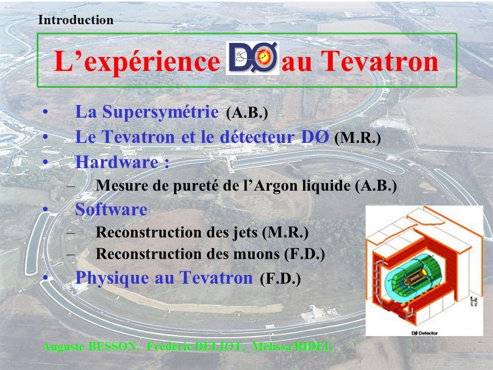 L'expérience au Tevatron