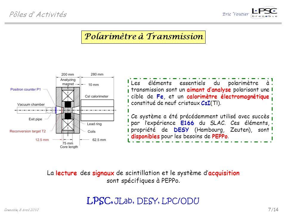 Polarimètre à Transmission