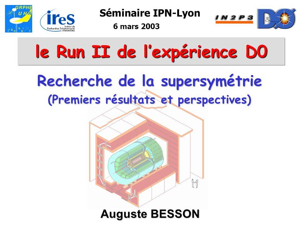 le Run II de l'expérience D0