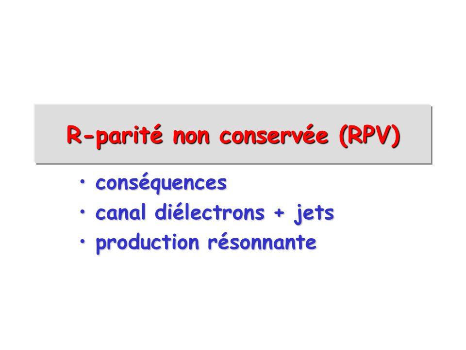 R-parité non conservée (RPV)