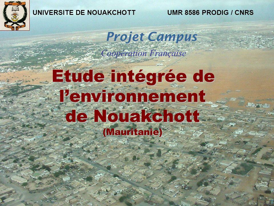 Etude intégrée de l'environnement de Nouakchott (Mauritanie)