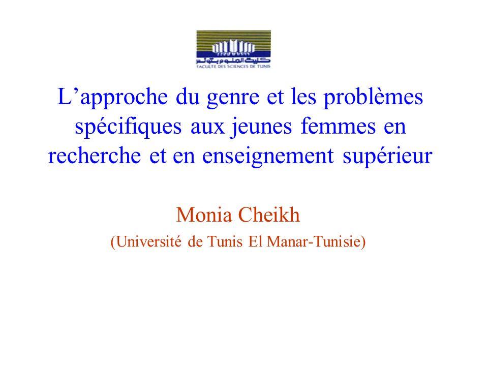 Monia Cheikh (Université de Tunis El Manar-Tunisie)