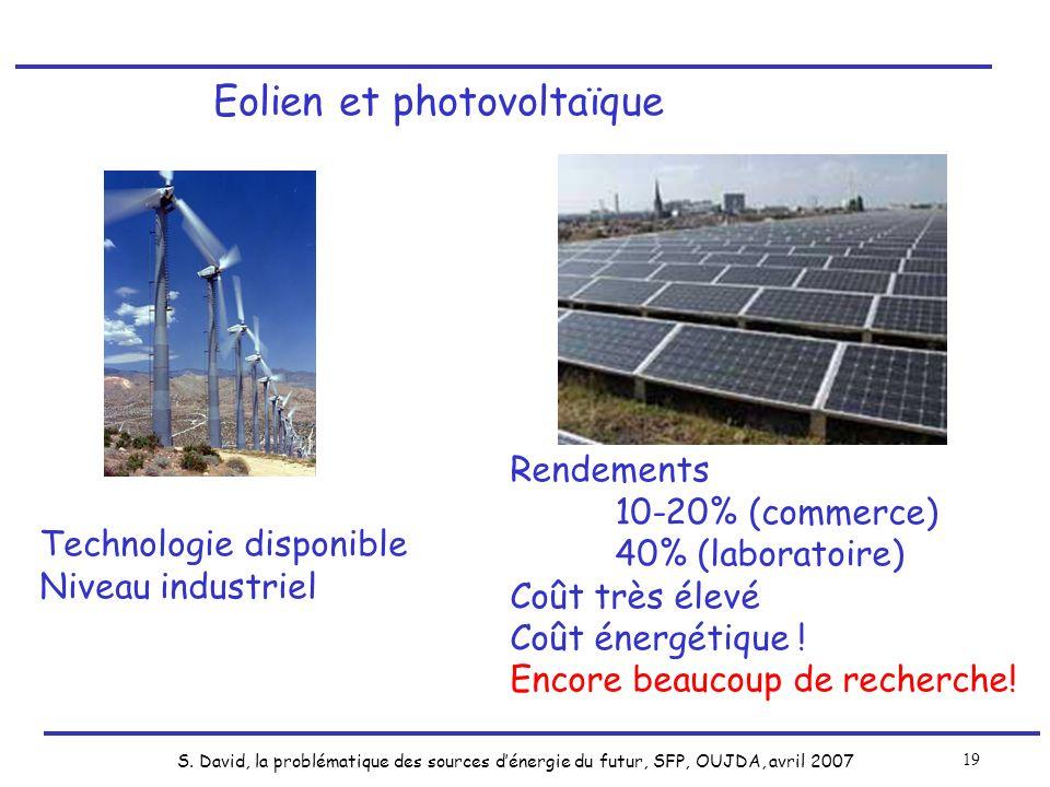 Eolien et photovoltaïque