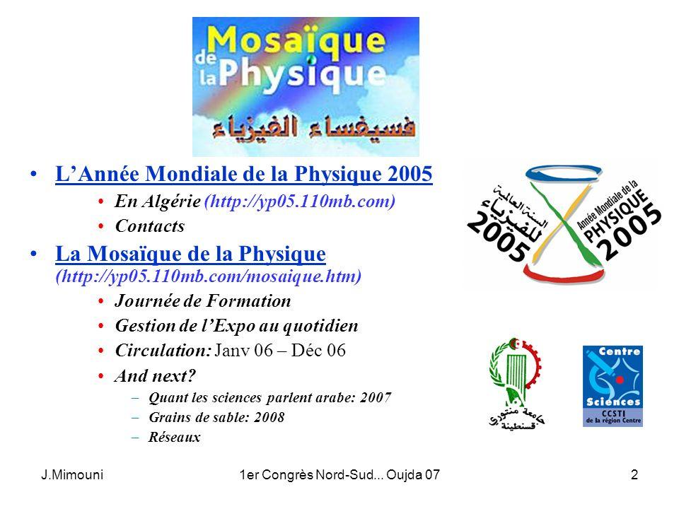 1er Congrès Nord-Sud... Oujda 07