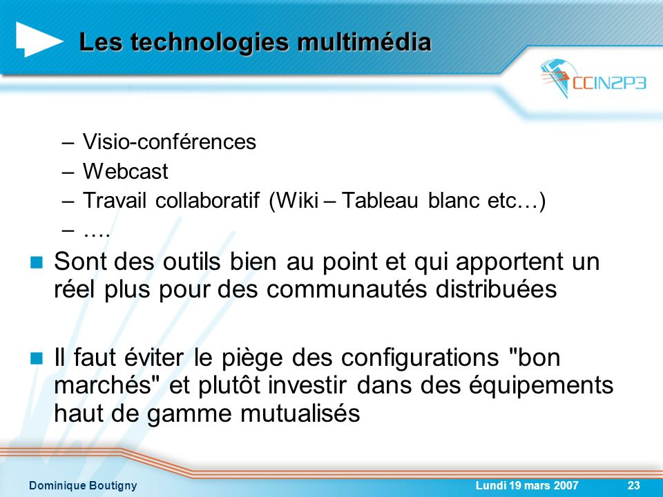 Les technologies multimédia