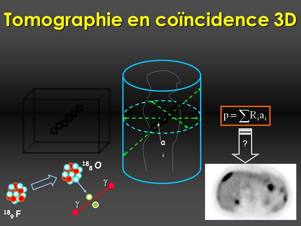 Tomographie en coïncidence 3D