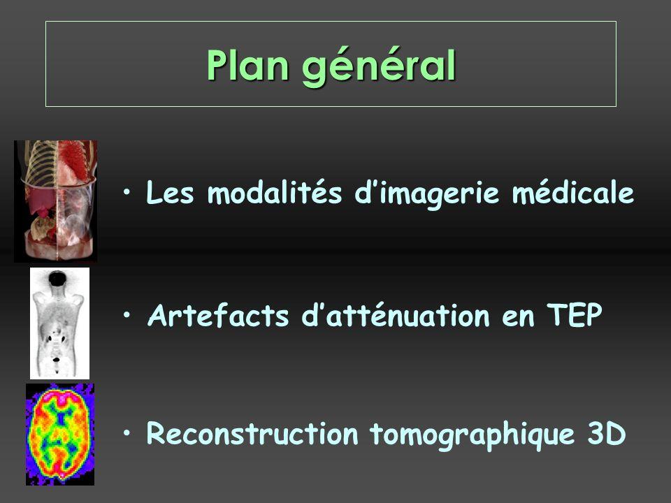 Plan général Les modalités d'imagerie médicale