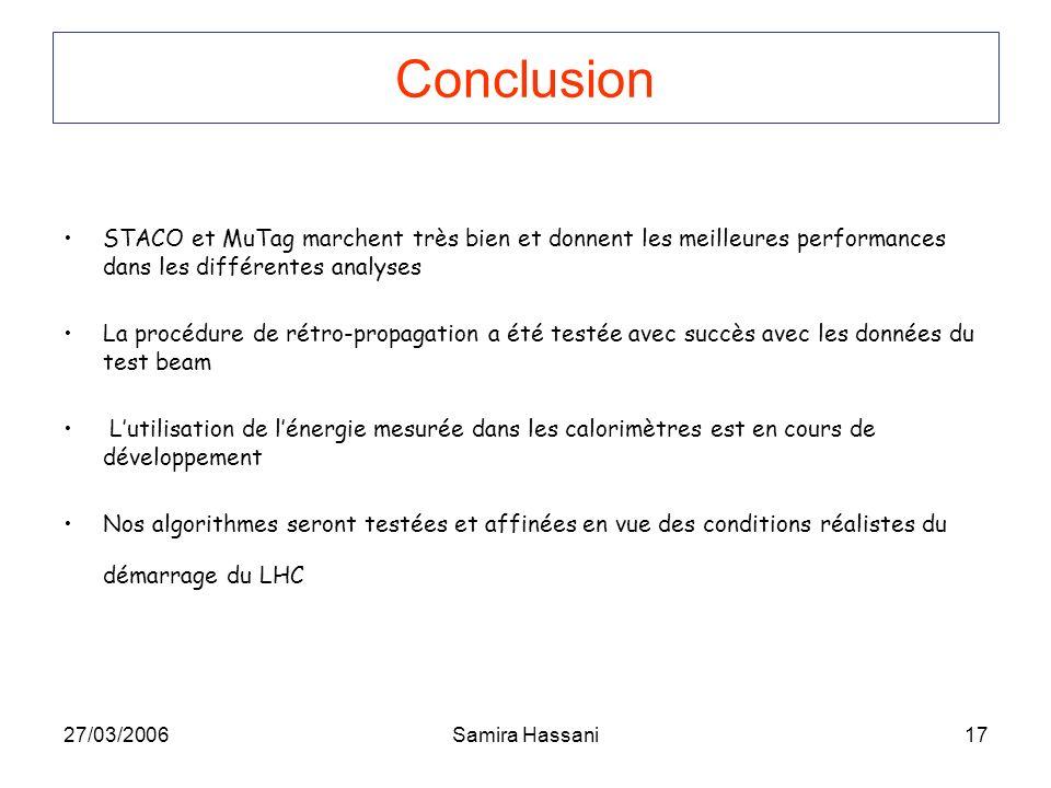 Conclusion STACO et MuTag marchent très bien et donnent les meilleures performances dans les différentes analyses.
