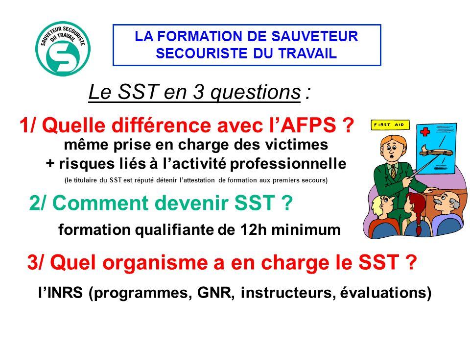 1/ Quelle différence avec l'AFPS