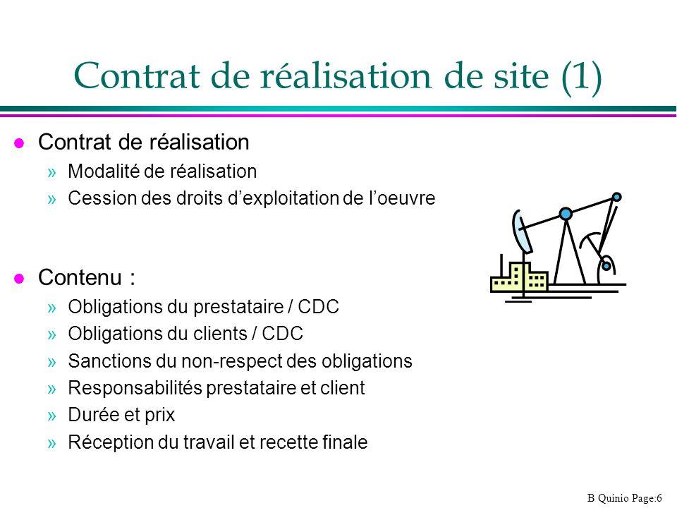 Contrat de réalisation de site (1)