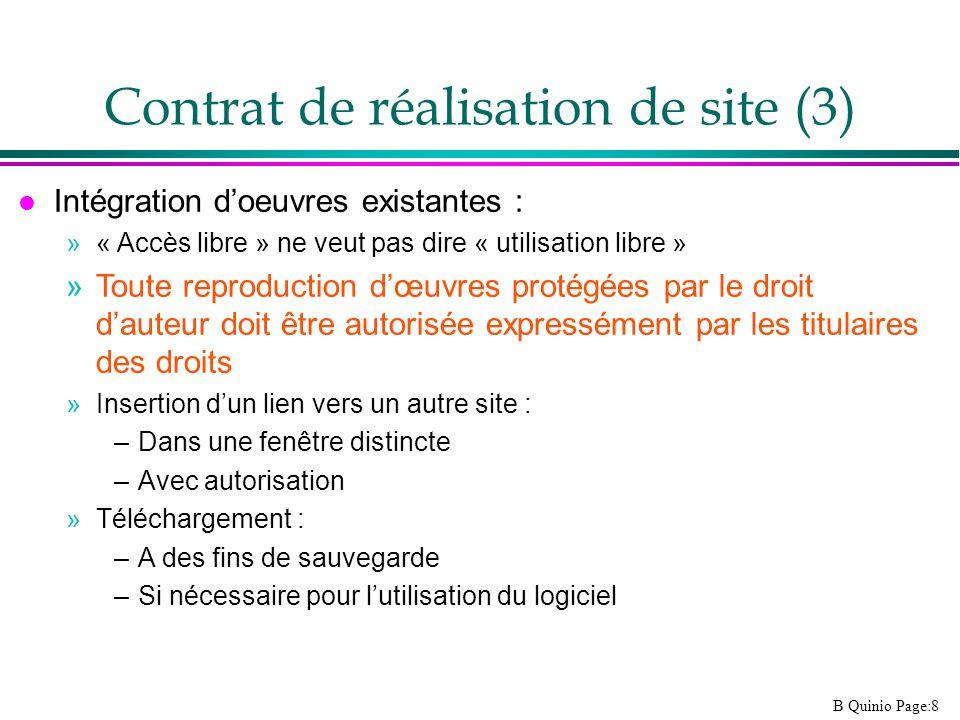 Contrat de réalisation de site (3)