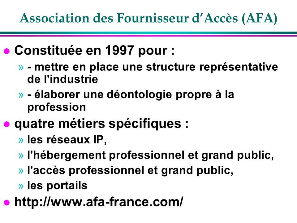 Association des Fournisseur d'Accès (AFA)