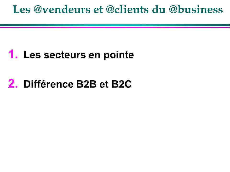 Les @vendeurs et @clients du @business