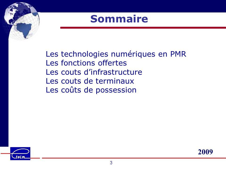 Sommaire Les technologies numériques en PMR Les fonctions offertes