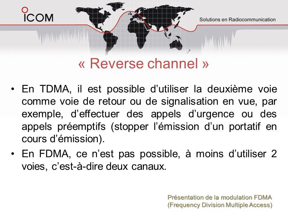 « Reverse channel »