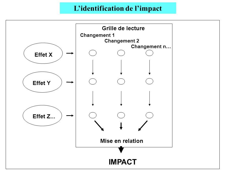 L'identification de l'impact