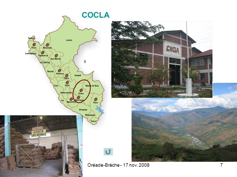 COCLA Oréade-Brèche - 17 nov. 2008