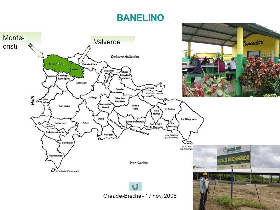 BANELINO Monte-cristi Valverde Oréade-Brèche - 17 nov. 2008