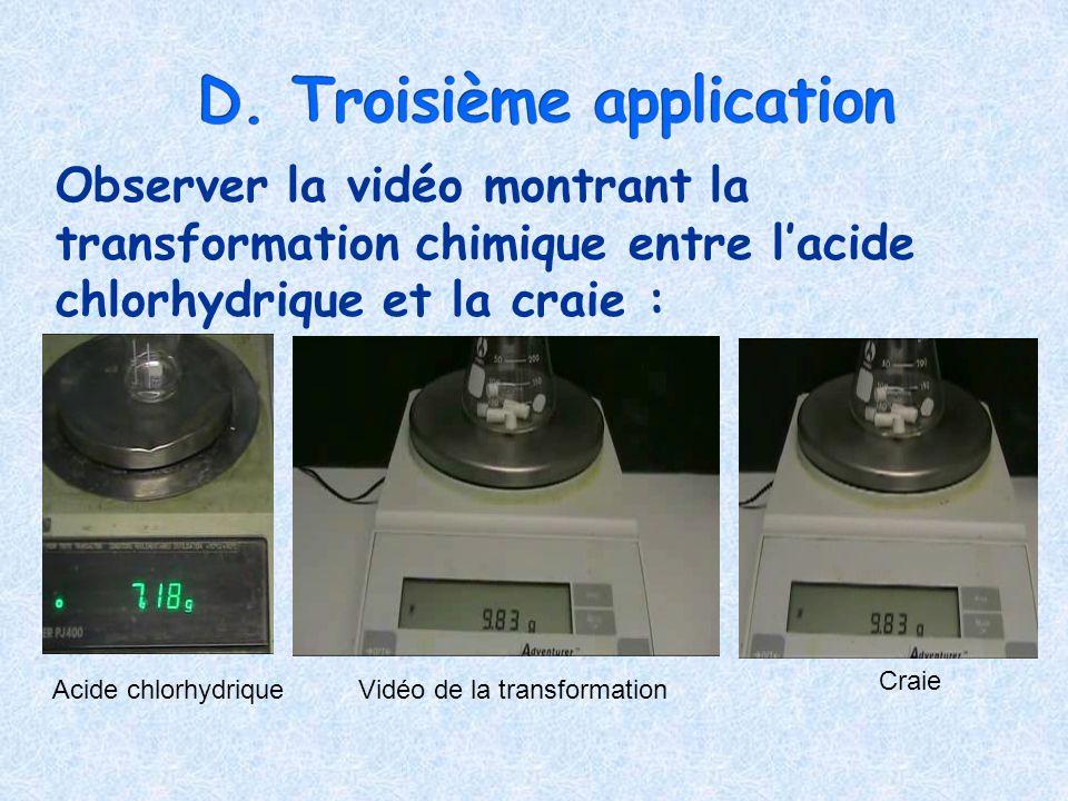 D. Troisième application