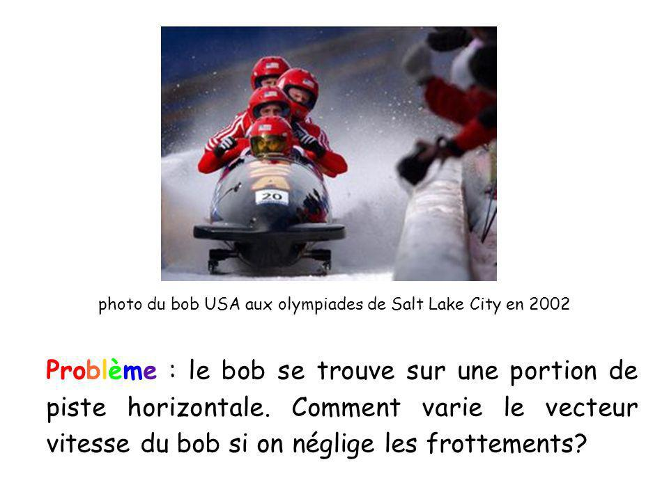 photo du bob USA aux olympiades de Salt Lake City en 2002