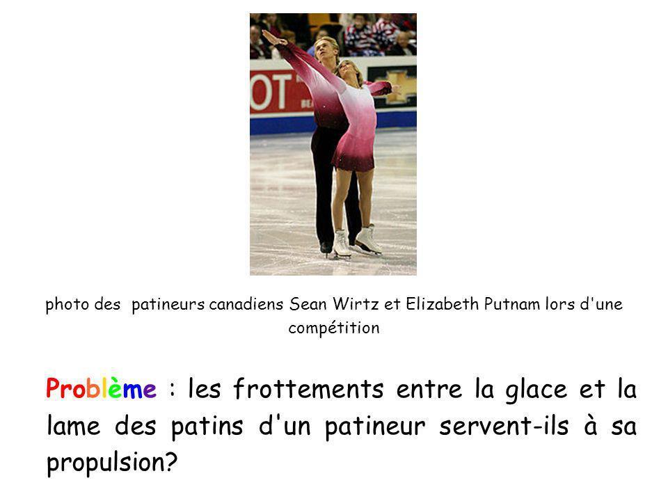 photo des patineurs canadiens Sean Wirtz et Elizabeth Putnam lors d une compétition