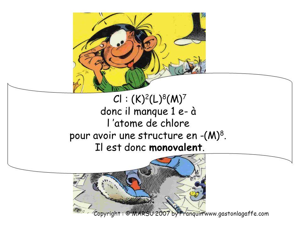 pour avoir une structure en -(M)8.