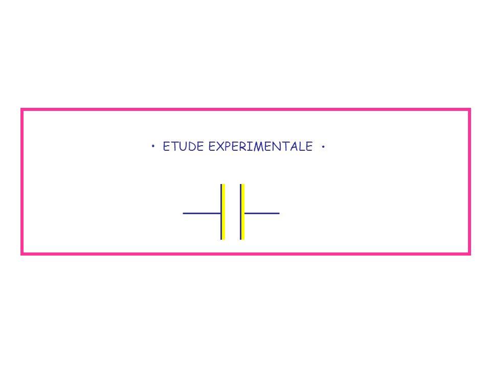 ETUDE EXPERIMENTALE •