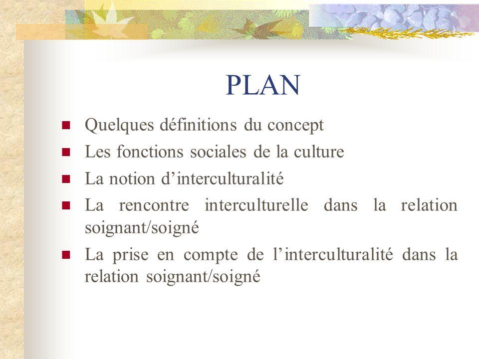 PLAN Quelques définitions du concept