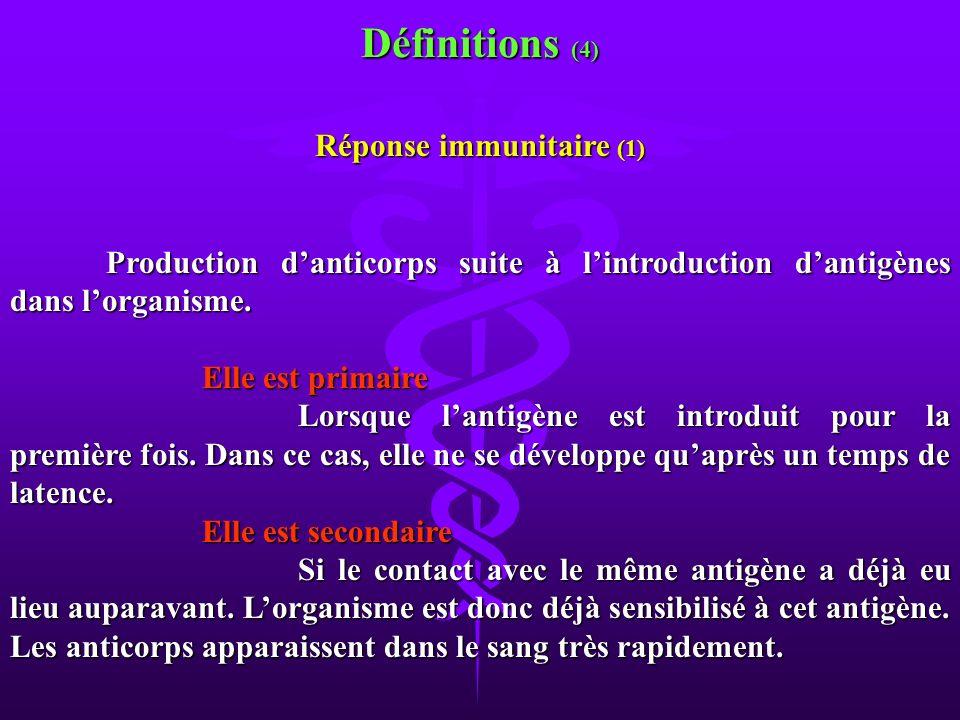 Réponse immunitaire (1)