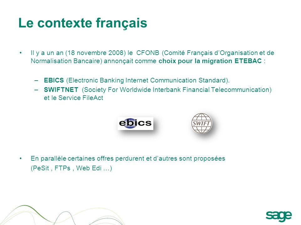 Le contexte français