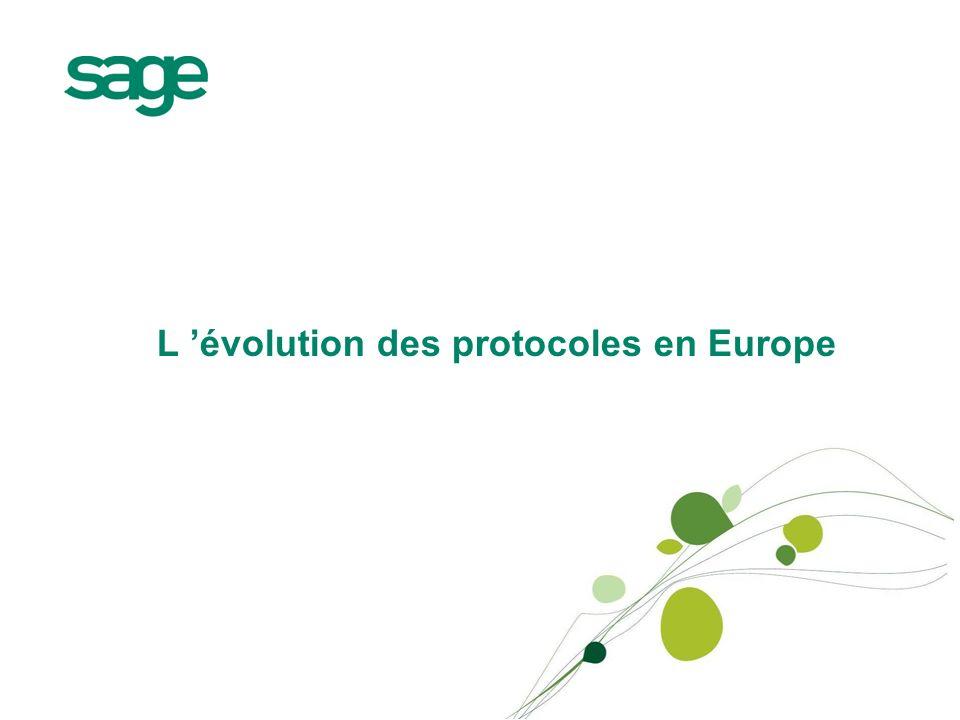 L 'évolution des protocoles en Europe
