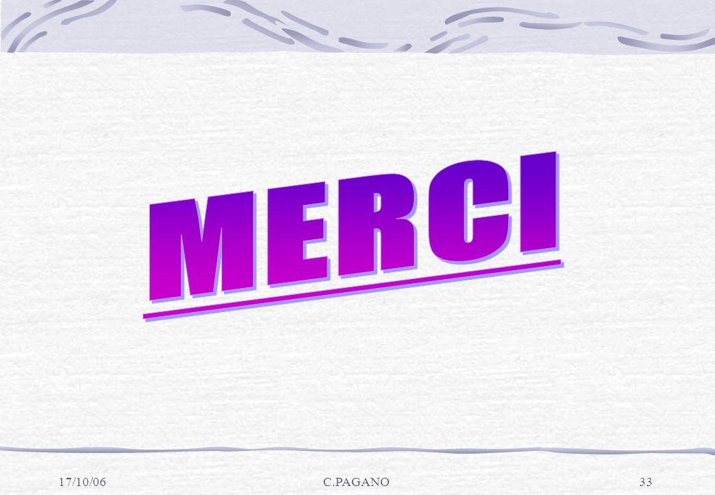 MERCI 17/10/06 C.PAGANO