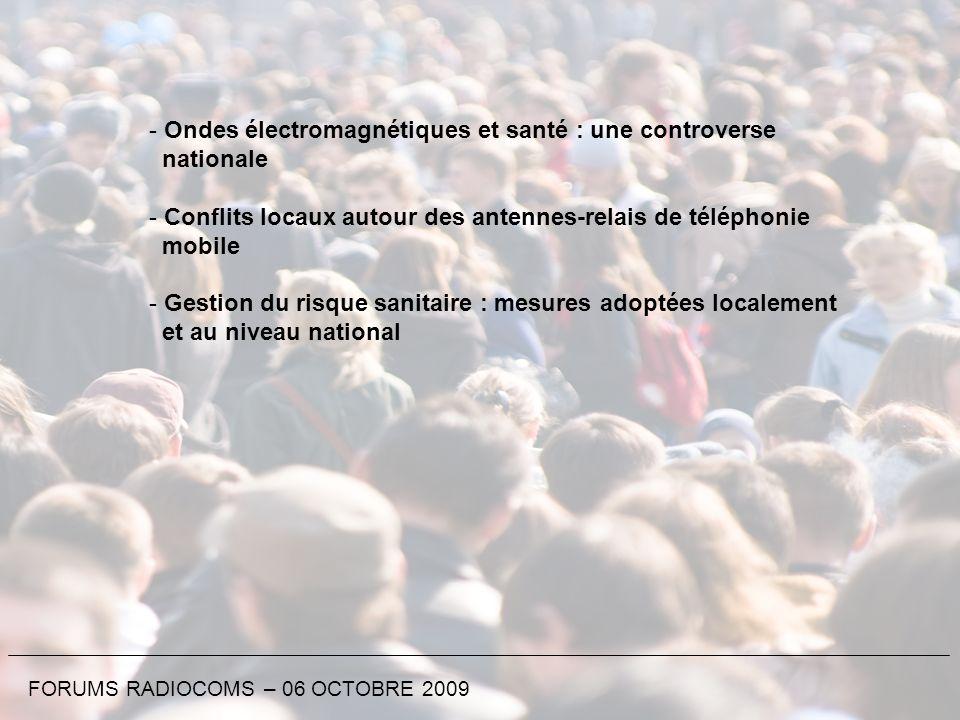 Ondes électromagnétiques et santé : une controverse nationale
