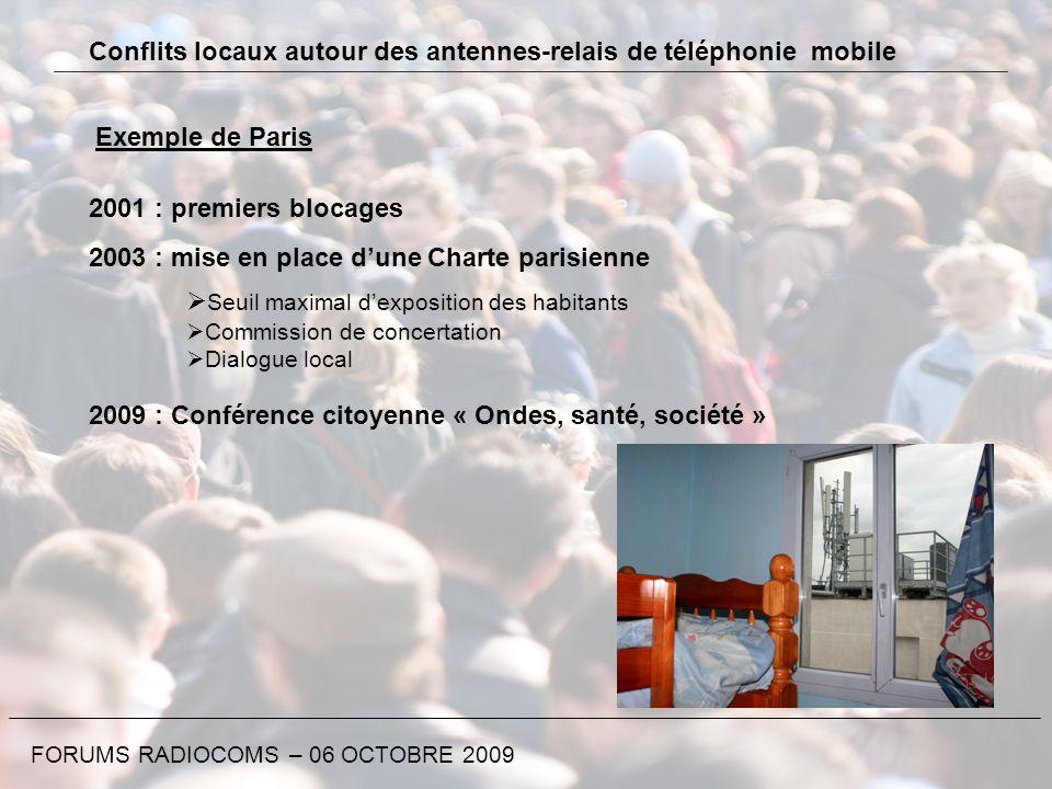 Conflits locaux autour des antennes-relais de téléphonie mobile