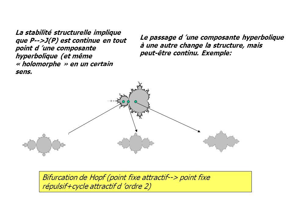 La stabilité structurelle implique