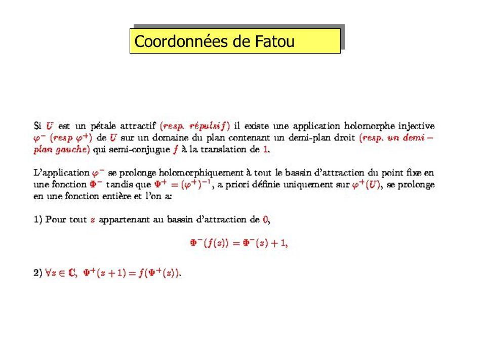Coordonnées de Fatou