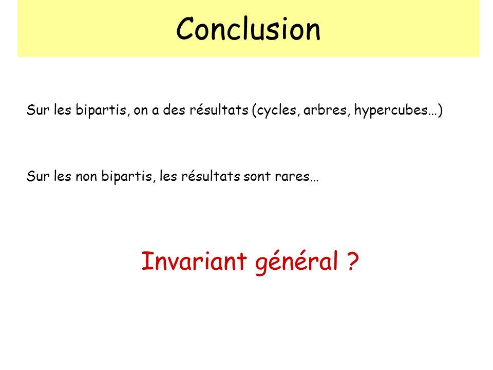 Conclusion Invariant général